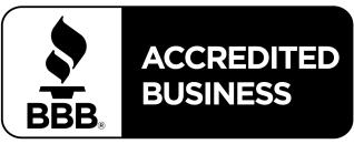 BBB Acredited Business. A+ Rating